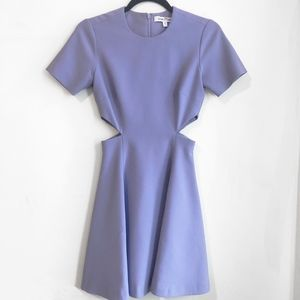 Elizabeth & James Lavender Leonie Cut Out Dress